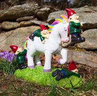 BigMouth Unicorn Gnome Massacre Garden Gnome image