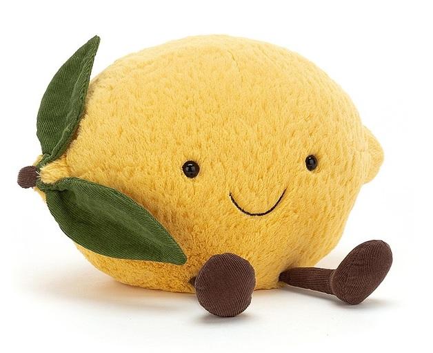 Jellycat: Amuseable Lemon - Medium Plush