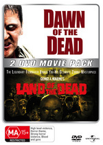 Dawn Of The Dead (2004) / Land Of The Dead - 2 DVD Movie Pack (2 Disc Set) on DVD