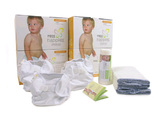 Real Nappies Essentials Pack - Infant (5-9kgs)