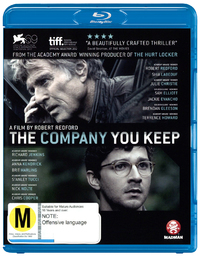 The Company You Keep on Blu-ray