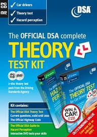 The Official DSA Complete Theory Test Kit for Car Drivers by Driving Standards Agency (Great Britain) image