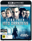 Star Trek: Into Darkness (4K UHD) DVD