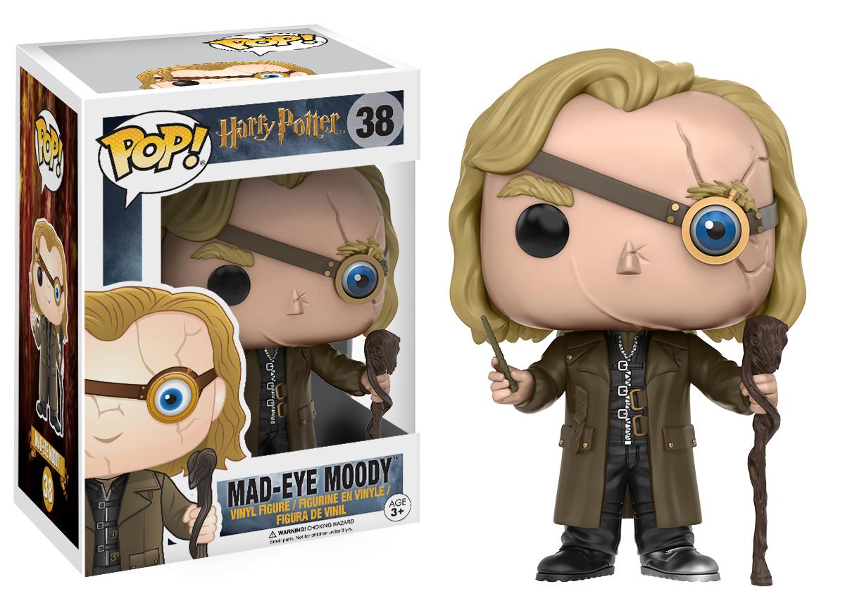 Harry Potter - Mad-Eye Moody Pop! Vinyl Figure image