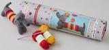 Button Bag - Sausage Dog Crochet Kit