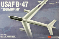 Academy 1/144 B-47 Stratojet '306th BW(M)' Model Kit
