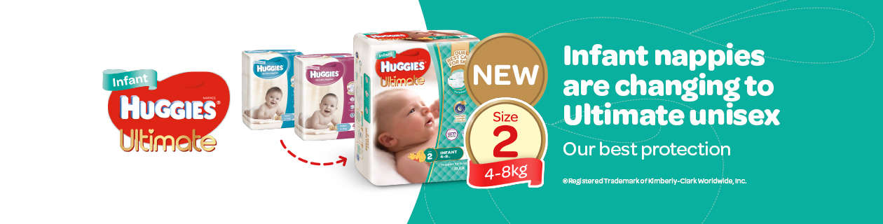Huggies Unitsex Transition