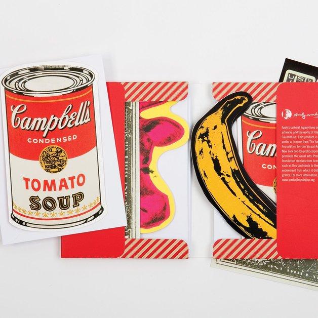 Galison: Shaped Portfolio Notecards - Warhol