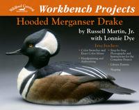 Hooded Merganser Drake by Russell Martin