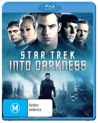 Star Trek: Into Darkness on Blu-ray