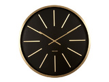 Karlsson Wall Clock - Maxiemus (Gold/Black)