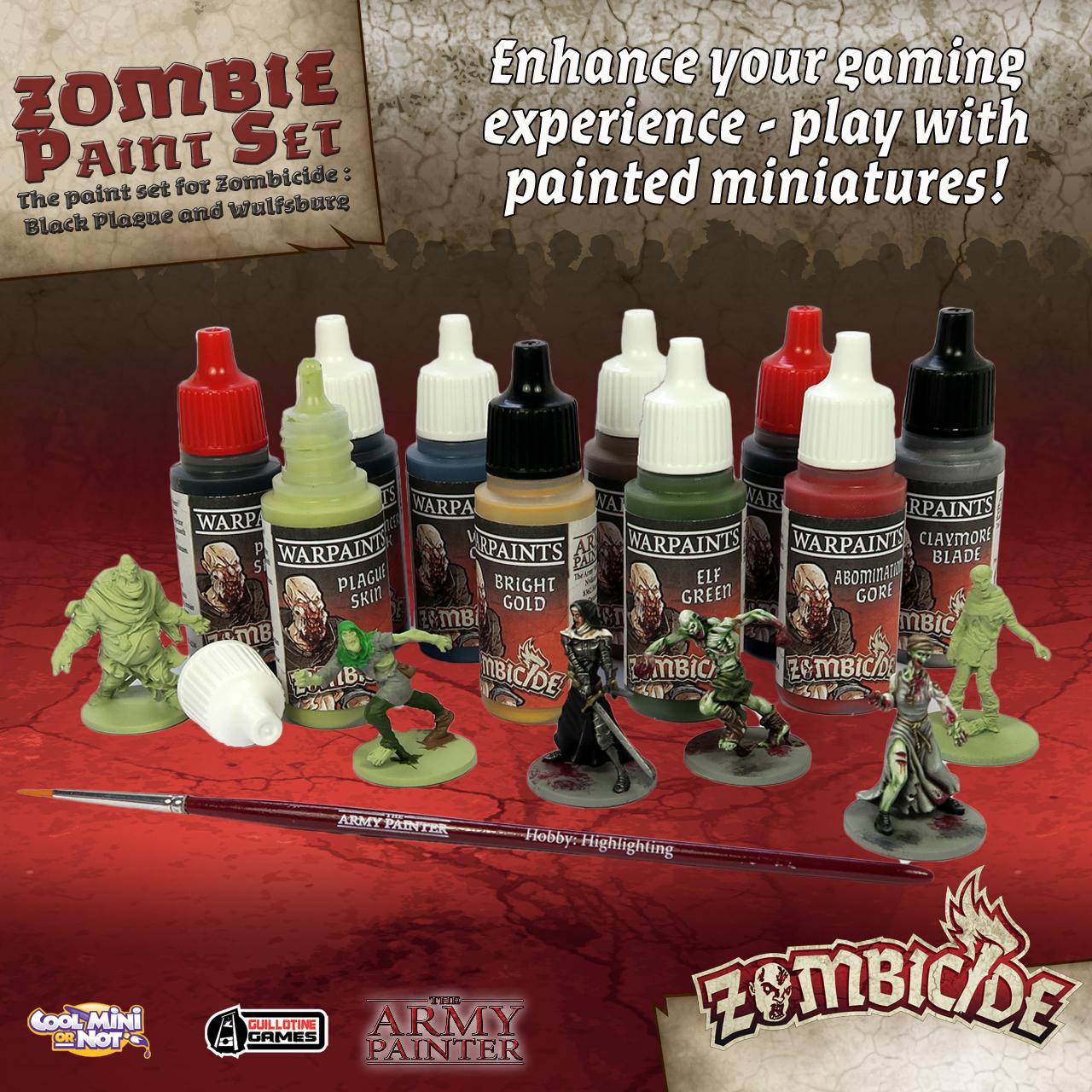 Army Painter Warpaints Zombicide: Black Plague image