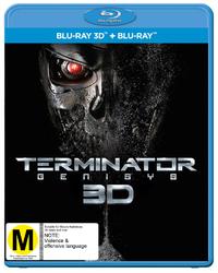 Terminator Genisys 3D on Blu-ray, 3D Blu-ray