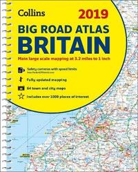 2019 Collins Big Road Atlas Britain by Collins Maps