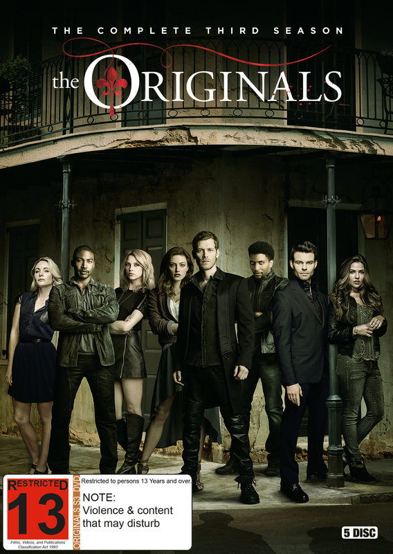 The Originals - Season 3 | DVD | On Sale Now | at Mighty Ape NZ
