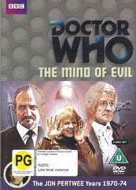 Doctor Who: The Mind of Evil on DVD