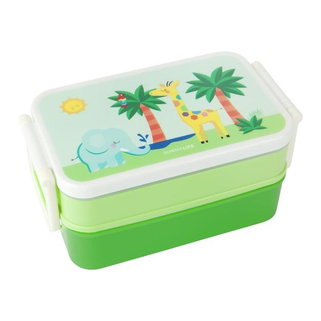 Sunnylife: Kids Bento Box - Safari