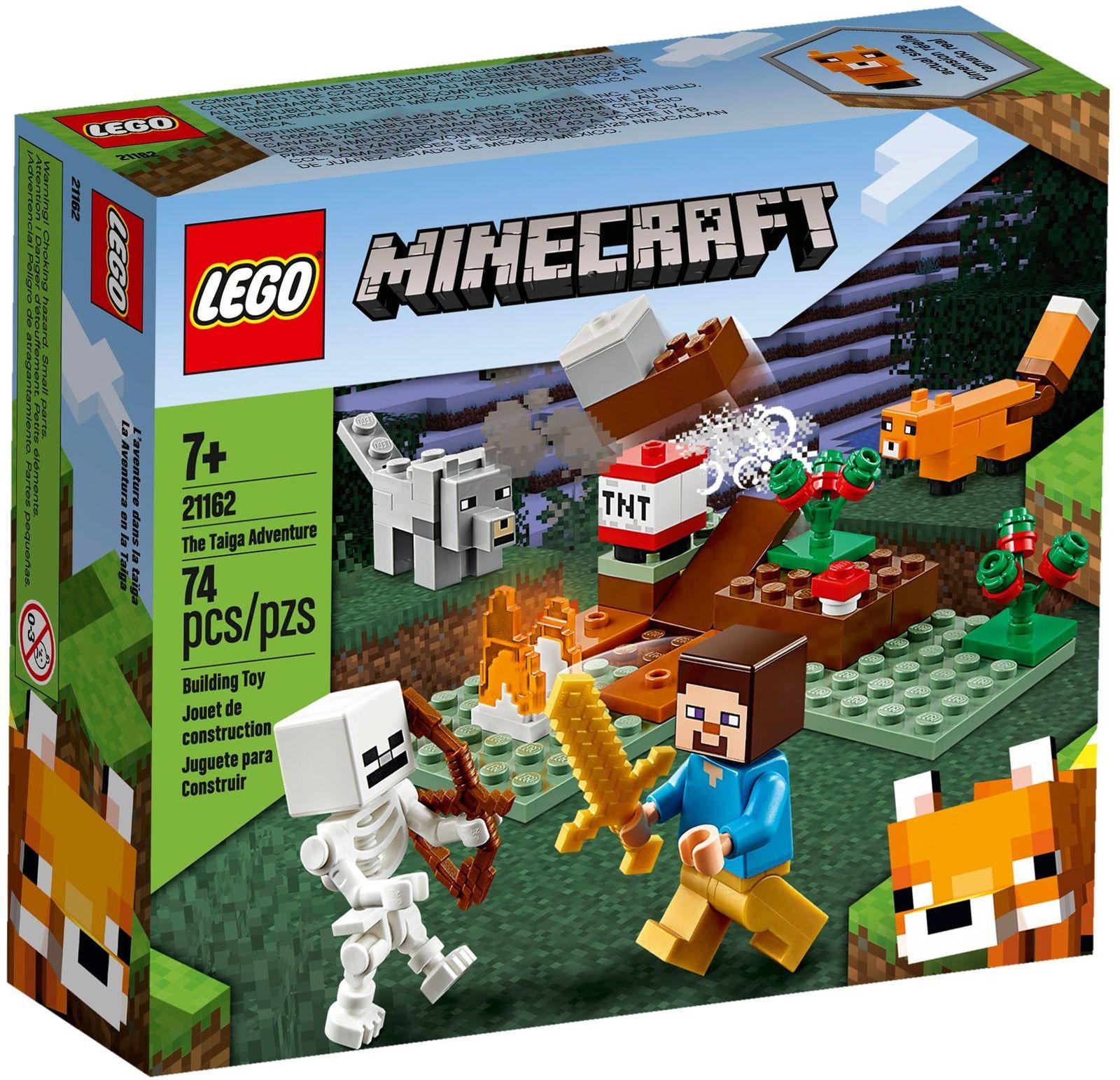 LEGO Minecraft: The Taiga Adventure - (21162) image