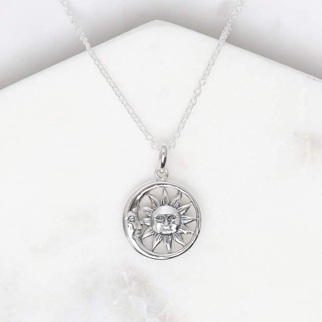 Midsummer Star: Solem and Lunam Necklace