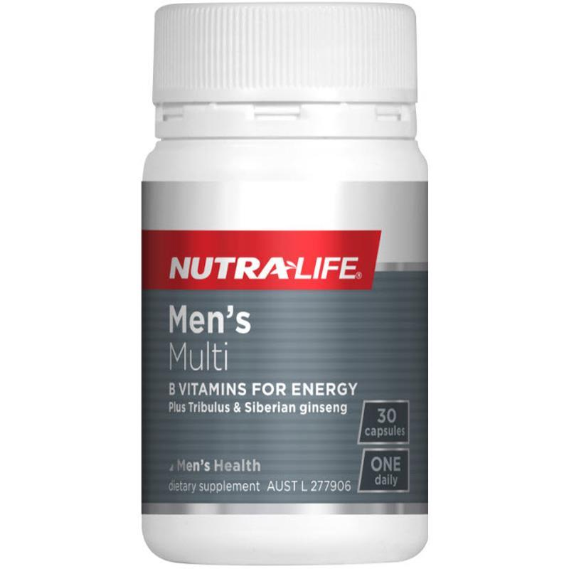 Nutra Life: Mens Multi One-A-Day Caps (30s) image