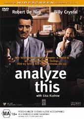 Analyze This on DVD