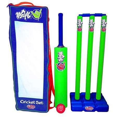 Wahu: Cricket Set - Green/Blue image