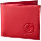 Flash - TV Logo Red Embossed Wallet