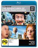 Adventures Of Baron Munchausen on Blu-ray