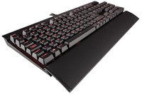 Corsair K70 Rapidfire Mechanical Gaming Keyboard (Red) for PC Games