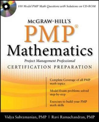 McGraw-Hill's PMP Mathematics by Ravi P. Ramachandran image