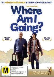 Where Am I Going? DVD