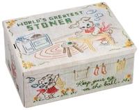 Blue Q Cigar Box - World's Greatest Stoner