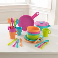 KidKraft: Bright Cookware - 27-Piece Set