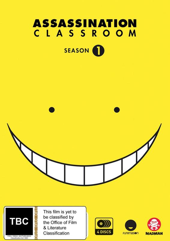 Assassination Classroom - Complete Season 1 on DVD