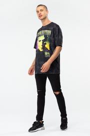 Just Hype: Mens T-Shirt - Frankenstein Retro XXL image