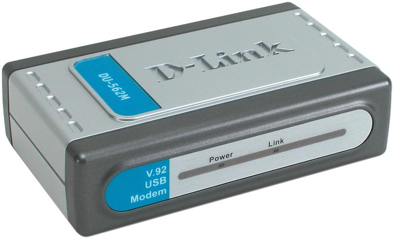D-Link DU-562M V.92 56K Data/Fax USB Modem image
