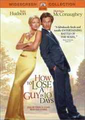 How To Lose A Guy In 10 Days on DVD
