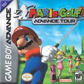 Mario Golf Advance Tour for Game Boy Advance