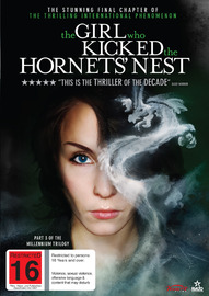 The Girl who Kicked the Hornets' Nest on DVD