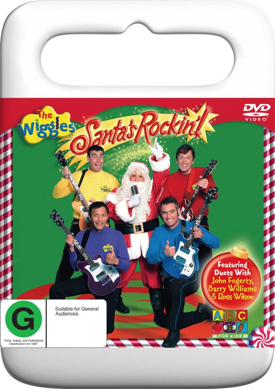 The Wiggles - Santa's Rockin' on DVD