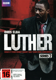 Luther - Season 2 on DVD image