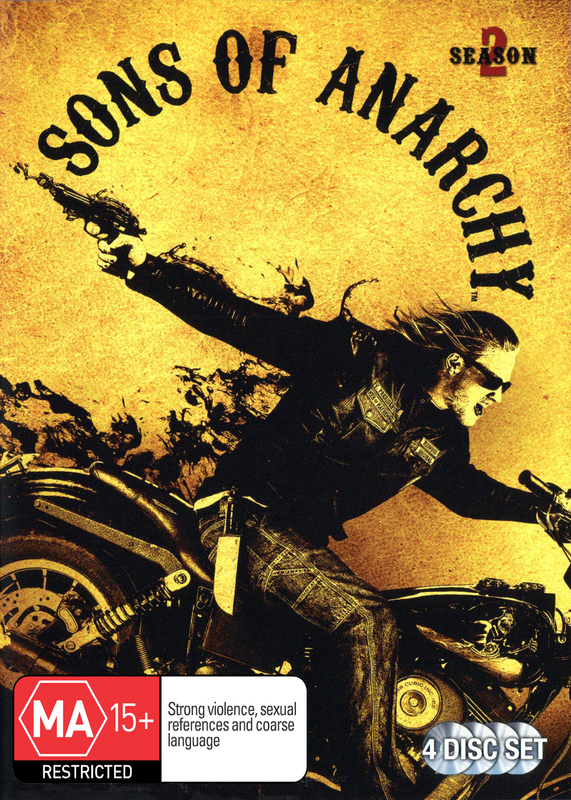 Sons of Anarchy - Season 2 on DVD