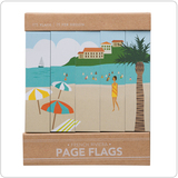 Girl of All Work Page Flags - French Riviera (5 pack)