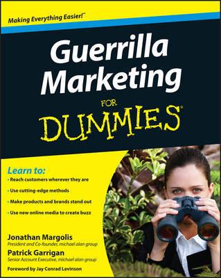 Guerrilla Marketing For Dummies by Jonathan Margolis image