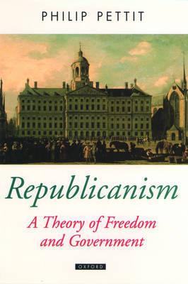Republicanism by Philip Pettit image