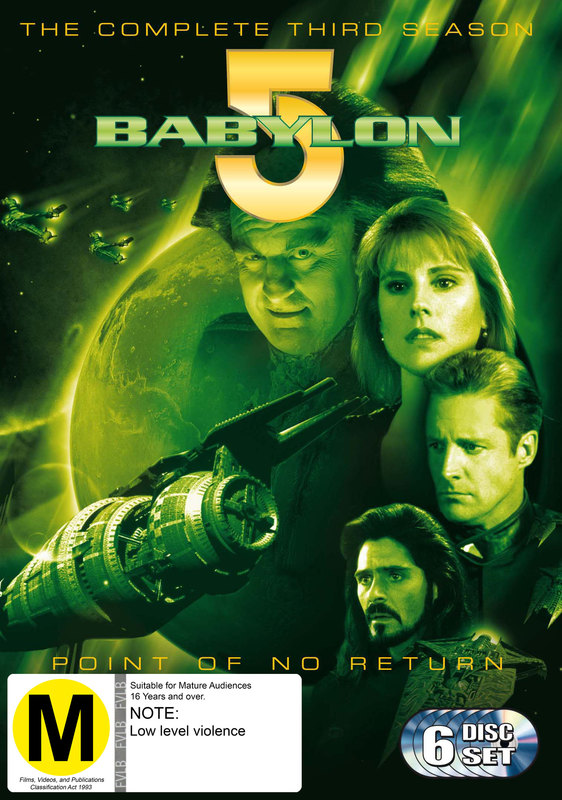 Babylon 5 - Season 3 (6 Disc Set) on DVD