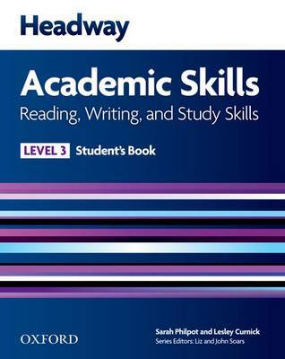 Headway Academic Skills: 3: Reading, Writing, and Study Skills Student's Book image