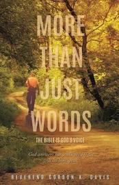 More Than Just Words by Reverend Gordon K Davis