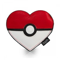 Loungefly Pokemon Pokéball Heart Coin Bag