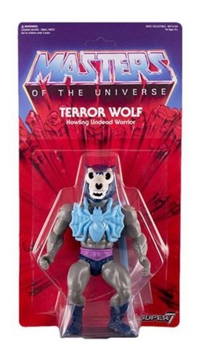 Masters of the Universe - Terror Wolf Vintage Action Figure image